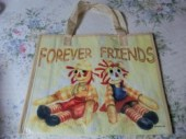 B007 ナイロンバッグ・FOREVER FRIENDS*B*